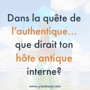Question 1 : La quête de l'authentique