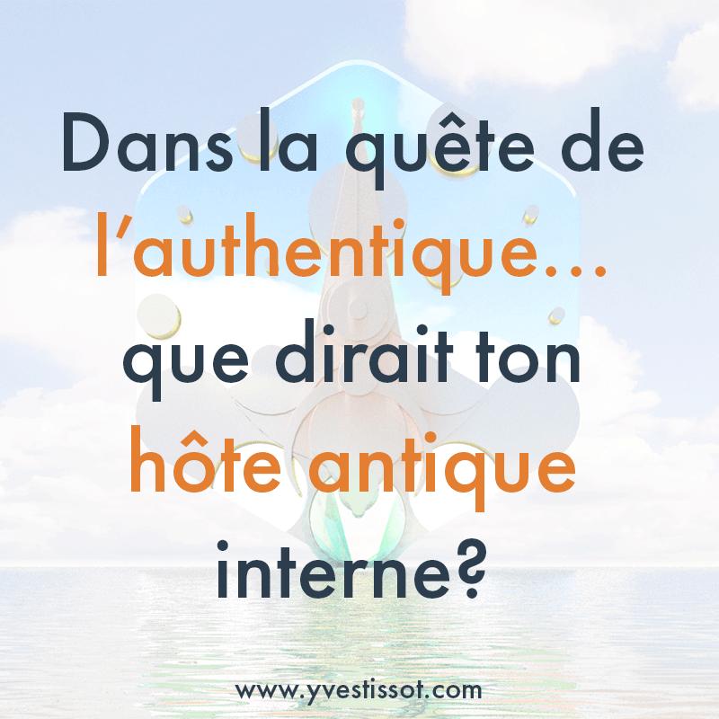 Question 1 : La quête de l'authentique